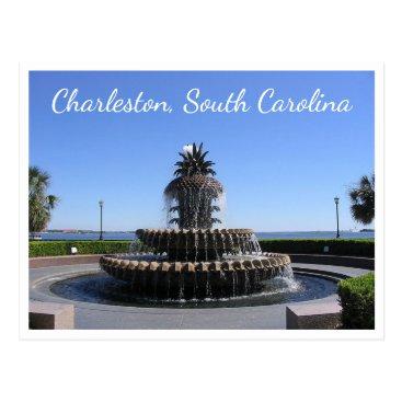 USA Themed Charleston SC South Carolina, USA Waterfront Park Postcard