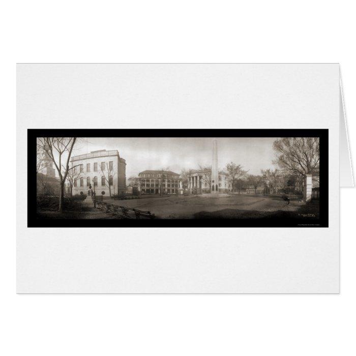 Charleston SC Square Photo 1909 Card