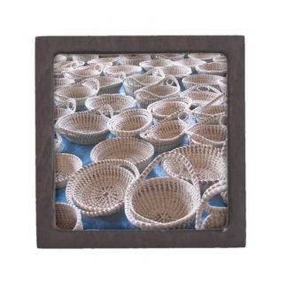 Charleston SC Sweetgrass Baskets Gift Box Premium Keepsake Box