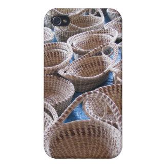 Charleston SC Sweetgrass Baskets iPhone Case