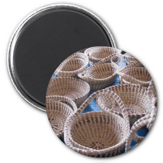 Charleston SC Sweetgrass Baskets Magnet