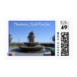 Charleston SC Waterfront Park Fountain Stamps