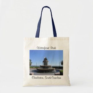 Charleston SC Waterfront Park Fountain  Tote Bag