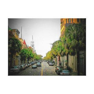 Charleston Scene 2 Canvas Print