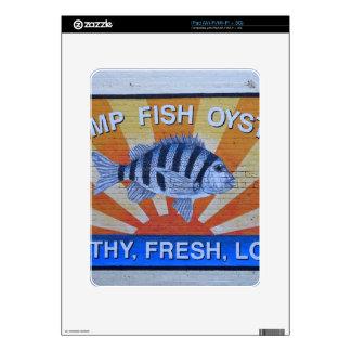 Charleston Seafood iPad Decals