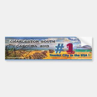Charleston, South Carolina #1 Tourist City USA! Bumper Sticker