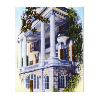 Charleston South Carolina Ashley Hall Canvas Print