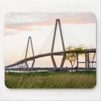 Charleston South Carolina Bridge - Cooper River Mouse Pad