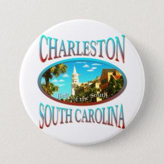 Charleston South Carolina Button