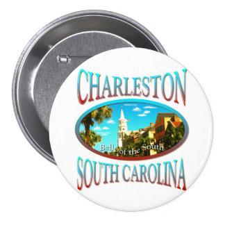 Charleston South Carolina Buttons