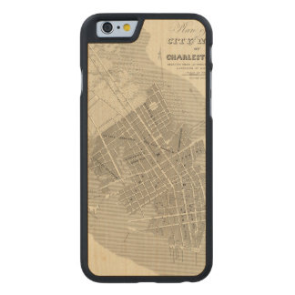 Charleston, South Carolina Carved Maple iPhone 6 Case