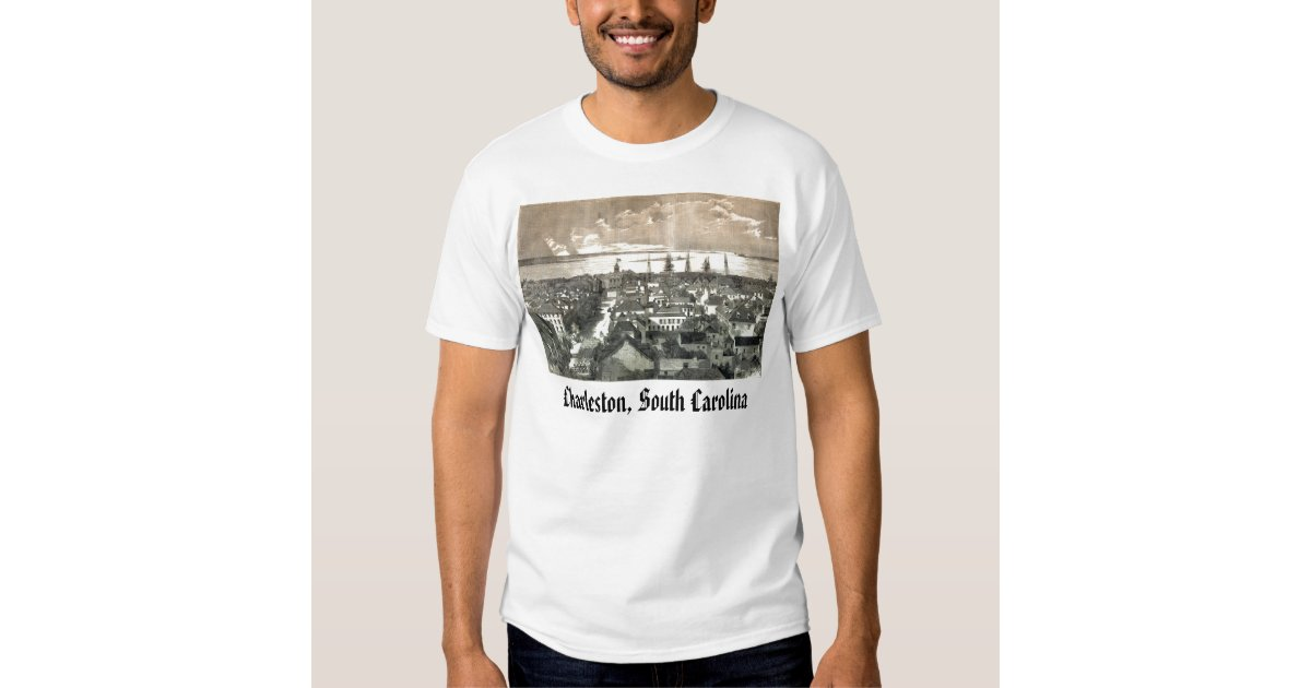 Charleston south carolina charleston south ca t shirt for T shirt printing charleston sc