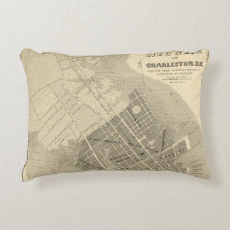 Charleston, South Carolina Decorative Pillow