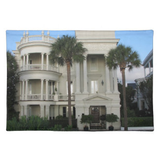 Charleston South Carolina Historic Home Placemat