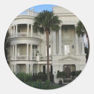 Charleston South Carolina Historic Home Stickers