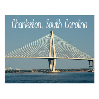 Charleston South Carolina Ravenel Bridge Post Card