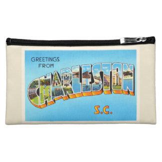 Charleston South Carolina SC Old Vintage Postcard- Cosmetic Bag