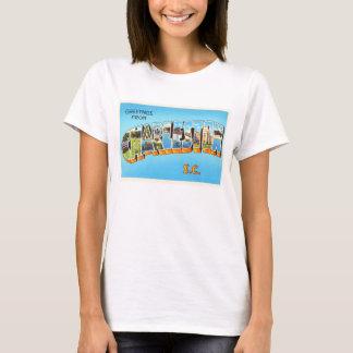 Charleston South Carolina SC Old Vintage Postcard- T-Shirt