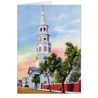 Charleston South Carolina St Michaels Church 1920 Cards