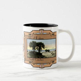 Charleston, South Carolina Two-Tone Coffee Mug