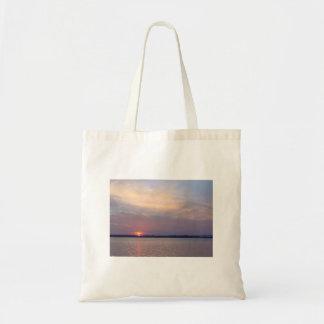 Charleston Sunset - No Text Tote Bag