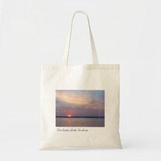Charleston Sunset Tote Bag