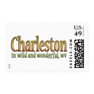 Charleston, Virginia Occidental Sello Postal