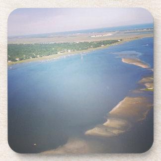 Charleston Waterways via Chopper. Drink Coaster