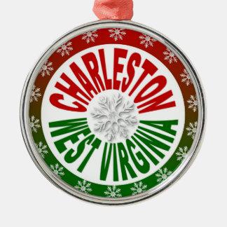 Charleston West Virginia holiday ornament