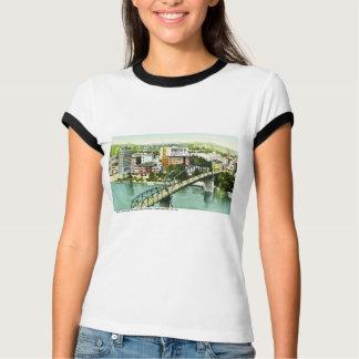 Charleston, West Virginia Retro Greetings From T-Shirt