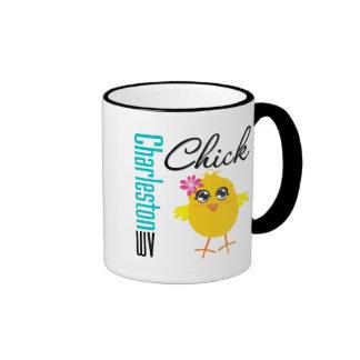 Charleston WV Chick Coffee Mugs