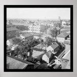 Charleston y la ciudadela del orfelinato 1865 posters