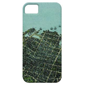 CharlestonHistoryMap iPhone SE/5/5s Case
