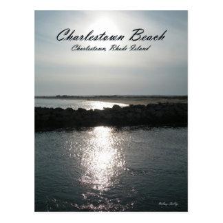 Charlestown Beach Rhode Island Postcard
