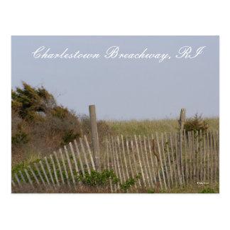 Charlestown Breachway Postcard