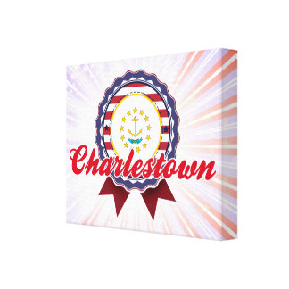 Charlestown, RI Impresión De Lienzo