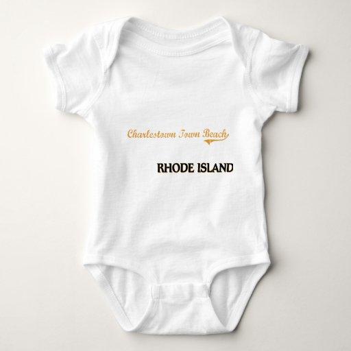 Charlestown Town Beach Rhode Island Classic T Shirt