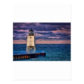 Charlevoix Light 0808 Postcard