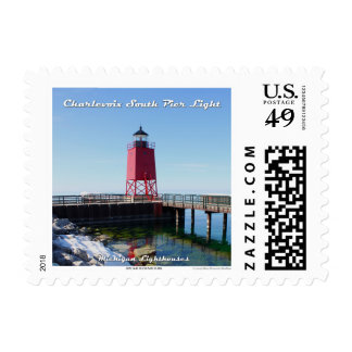 Charlevoix South Pier Light: 1st Class Postage