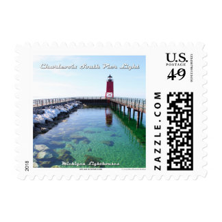 Charlevoix South Pier Light: 1st Class Stamp
