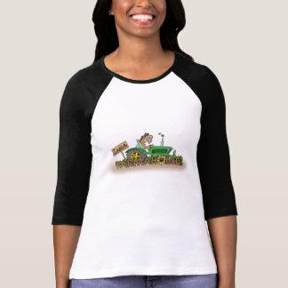 Charley Horse Ladies 3/4 Sleeve Raglan (Fitted) Shirt