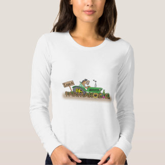 Charley Horse Ladies Long Sleeve (Fitted) Tshirts