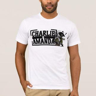 Charlie & Amanda Gramophone Tee-Shirt T-Shirt