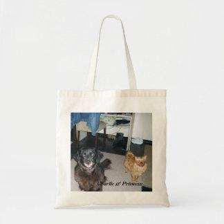 """Charlie and Princess """"2010"""" Budget Tote Bag"""