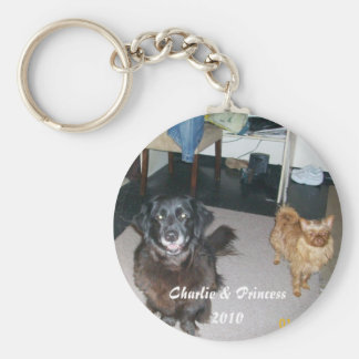"Charlie and Princess ""2010"" Keychains"