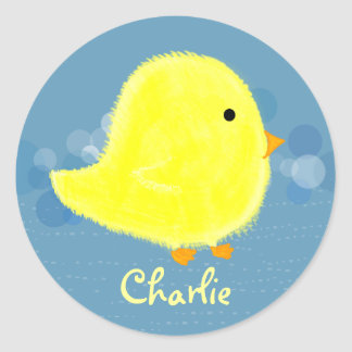 Charlie Baby Chick Sticker 369MyName