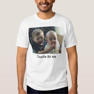 Charlie bit me - before bite - basic shirt