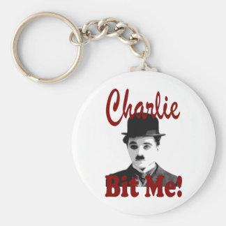 Charlie Bit Me Keychain