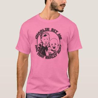 Charlie Bit Me (light t-shirt) T-Shirt