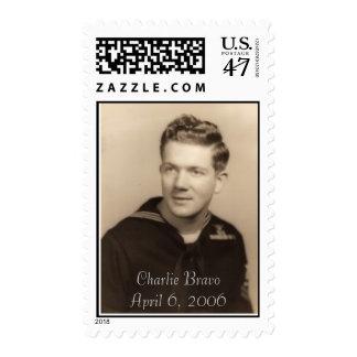 Charlie  Bravo Stamp